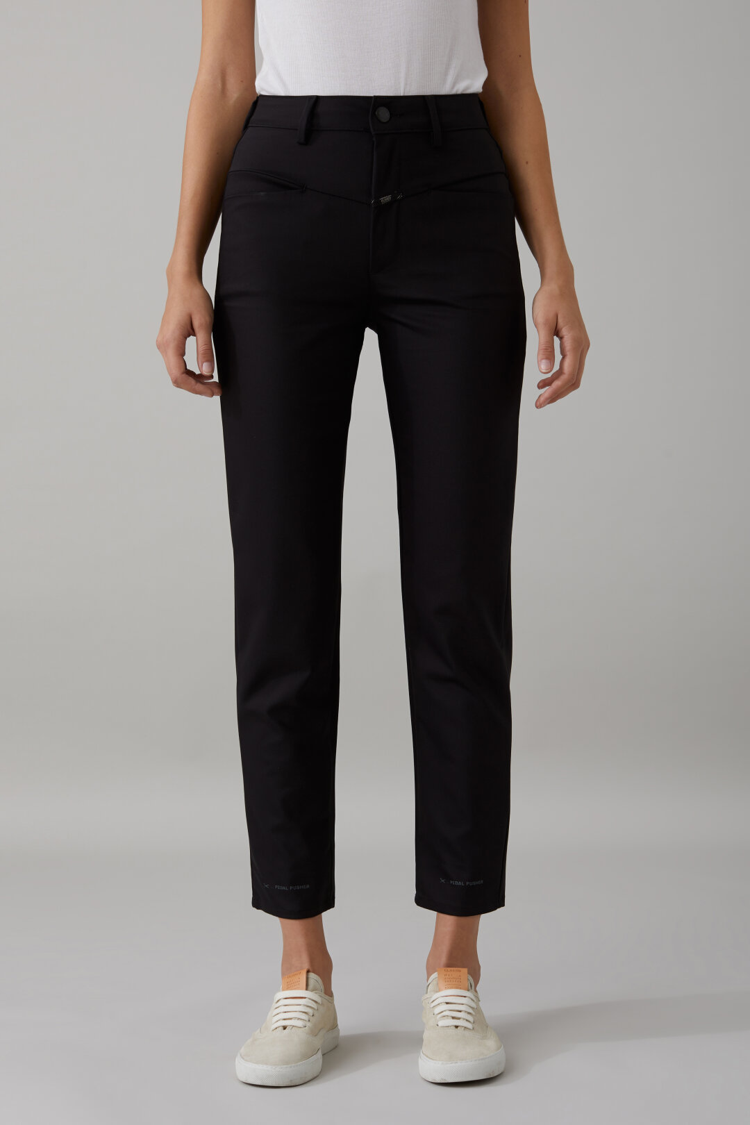 Pantalon Pedal Pusher en coton stretch