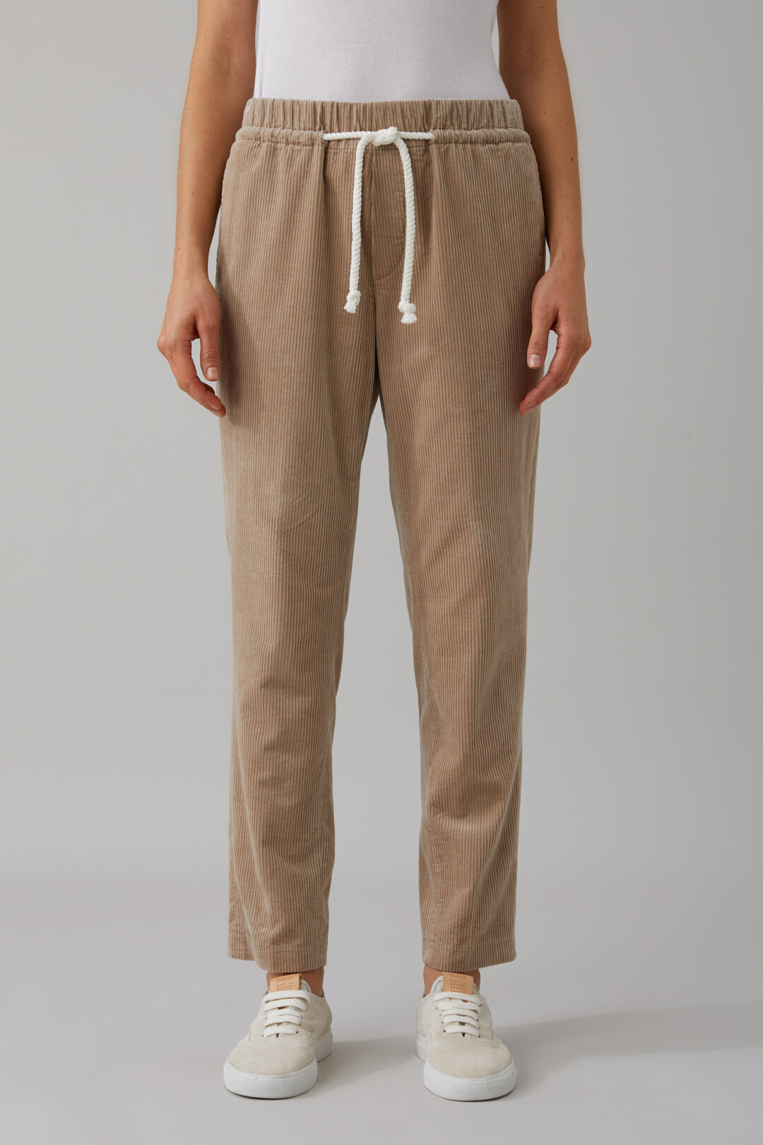 Pantalon en velours côtelé Blanch