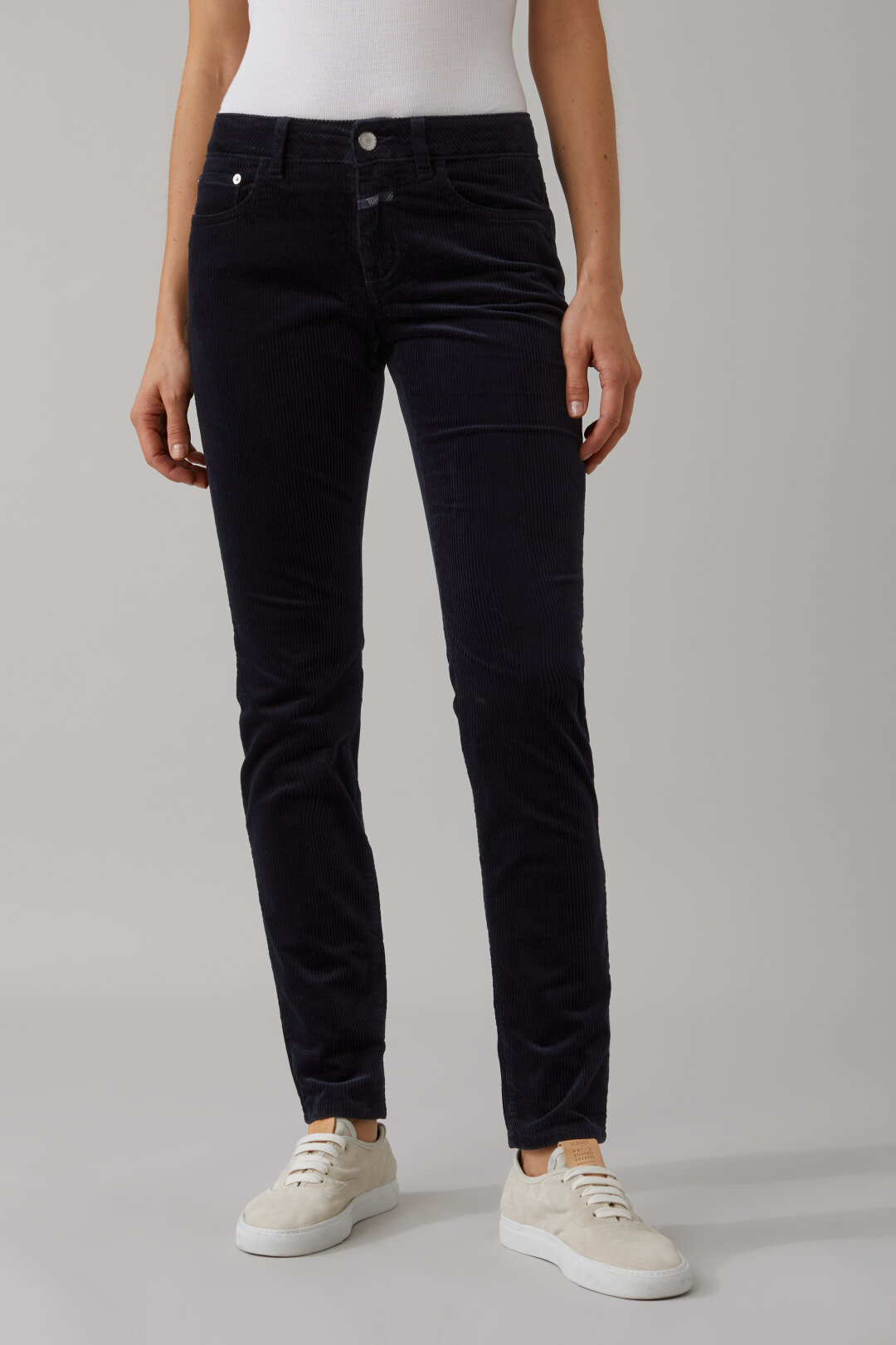 Pantalon velours côtelé Baker Long