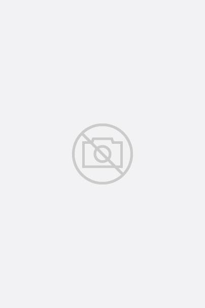 Robe en tissu jean à col montant