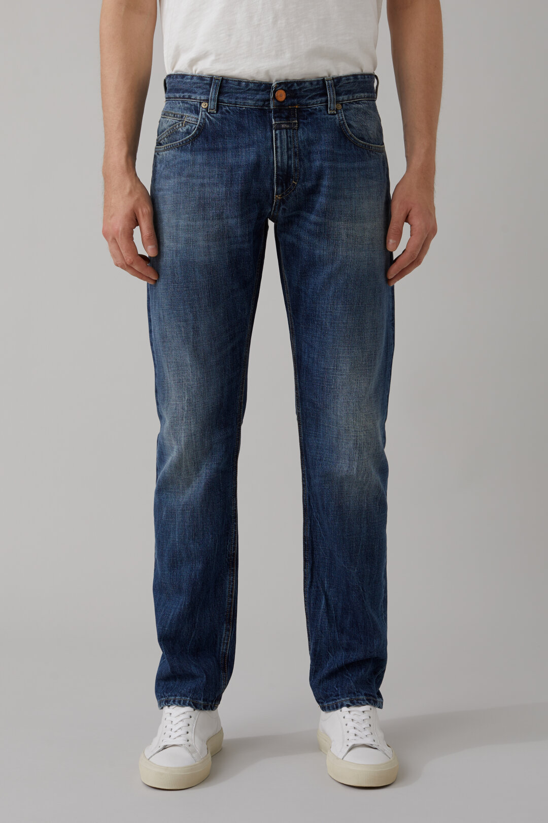 Unity Slim Blue Selvedge Denim