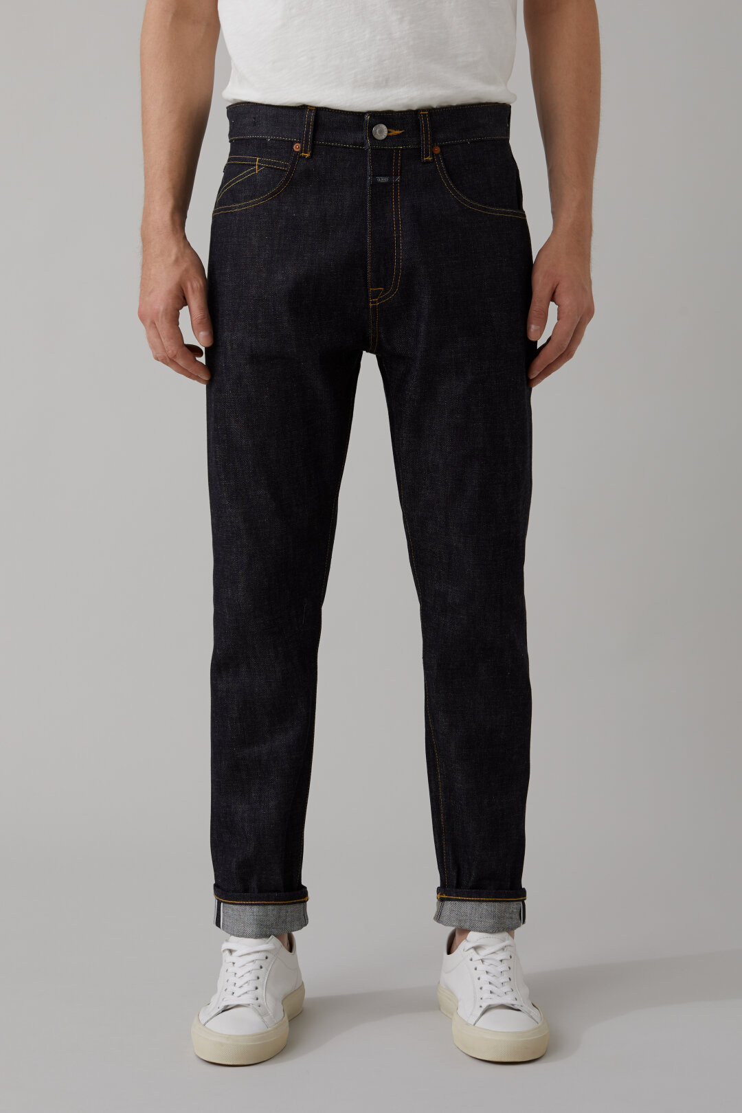Cooper Tapered Natural Indigo Selvedge Denim
